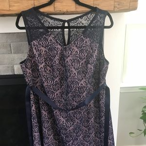 Maternity plus size dress